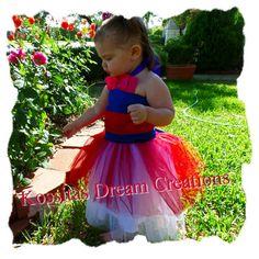 Hey, I found this really awesome Etsy listing at https://www.etsy.com/listing/191855232/mulan-princess-tutu-dress-mulan-costume