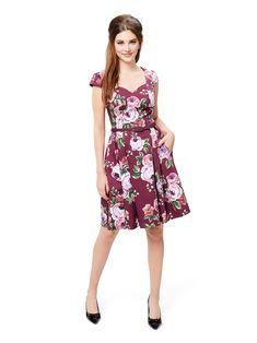 Chateau Floral Dress