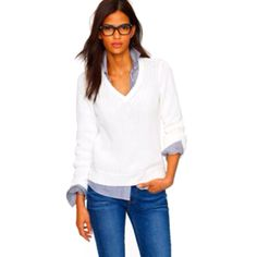 What I wear... comfy, simple, easy - JCrew