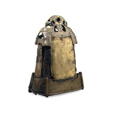 St Cuileáin's bell shrine  Irish, 7th or 8th (iron bell) and early 12th centuries (brass shrine) AD, from Glankeen, County Tipperary, Ireland