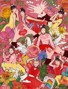 OH MY GIRL 4th Mini Album Coloring Book Coming Soon 20170403