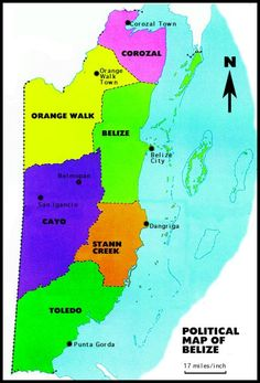 Locator Map Of Belize Belize Pinterest Belize - Belize map