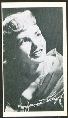 Janet Leigh 3x5 picture