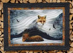This lovely Fox quilt was created by our customer Fabienne with a digitally printed panel from the Call of the Wild collection by Hoffman Fabrics. http://www.equilter.com/search?p_filter_keyword=HORDG&p_search_type=all&p_func=live