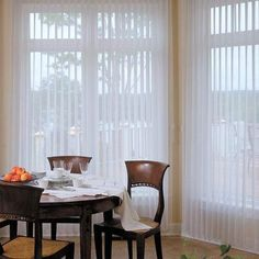 Just found the perfect window treatments!! - Blinds.com. – Sheer Delight Vertical #homedecor #blinds #vertical-blind-alternatives