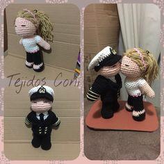 Roxy, Crochet Projects, Crochet Hats, Fashion, Sailor, Amigurumi, Tejidos, Knitting Hats, Moda