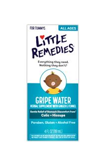Little Remedies© Gripe Water-- I've heard it doesn't work for every baby, but for C it's been miraculous! They say there's no cure for hiccups, but this stops them, no kidding. Helps with gas & fussiness, too.