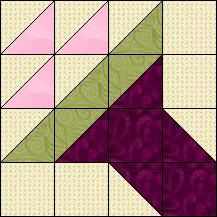 Block of Day for January 24, 2015 - Jersey Bouquet