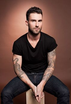 Adam Levine. So obsessed