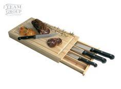 Caja de cuchillos Knifes, Crates, Presents, Cooking, Home