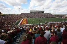 Kelly-Shorts Stadium in Mt. Home of the Central Michigan Chippewas. Fun Football Games, Football Stadiums, College Football, Central Michigan University, State Of Michigan, Places Ive Been, Places To Go, It's Always Sunny, My Happy Place