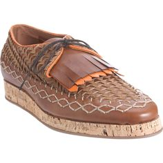 These Burberry woven loafers are top brass!