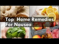 Top Home Remedies For Nausea Nausea Cure With Ginger Lemon Juice For Nausea Treatment With Peppermint Home Remedy With Cu. How To Cure Nausea, Home Remedies For Nausea, The Cure, Vegetables, Youtube, Food, Essen, Vegetable Recipes, Meals