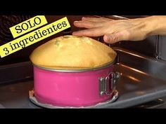 Sponge cake with only 3 ingredients. See how it grows in the oven! Sweet Recipes, Cake Recipes, Dessert Recipes, Easy Cooking, Cooking Recipes, My Favorite Food, Favorite Recipes, Flan Recipe, Bolo Cake
