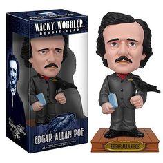 Edgar Allen Poe Bobblehead @Linsey Rendell Rendell McCoun