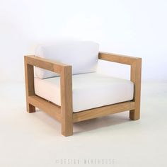Ibiza Teak Club Chair | Design Warehouse