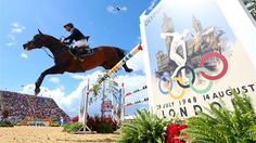 Rolf-Goran Bengtsson of Sweden riding Casall competes in the second qualifier of Individual Jumping on Day 9 of the London 2012 Olympic Games at Greenwich Park.