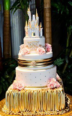 Disney Wedding Cakes Gallery | Disney's Fairy Tale Weddings