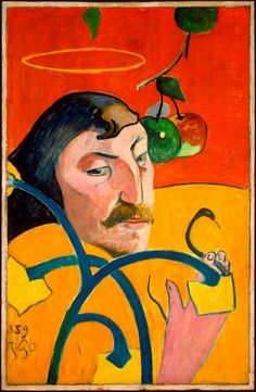 Above: Self -portrait with Halo, 1889 Paul Gauguin . Art: a mad search for individualism. ~ Paul Gauguin Self-portrait, 1896 . Self-portrait with palette, 1894 . Self- portrait in Hat,. Paul Gauguin, Henri Matisse, National Gallery Of Art, Art Gallery, National Art, Pierre Auguste Renoir, Edouard Manet, Famous Self Portraits, Modern Portraits
