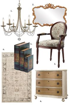 Joss & Main- love these old world inspired pieces