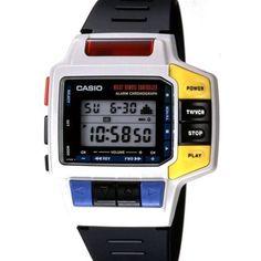 Casio Wrist Remote Controller 1993 #casio #casiolove...
