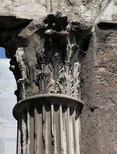 Porticus Octaviae: Corinthian capital   Flickr - Photo Sharing!
