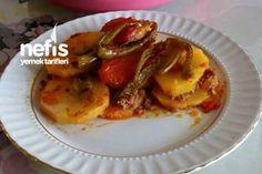 Fırında Nefis Patates Oturtma (Kızartmadan ) Tarifi