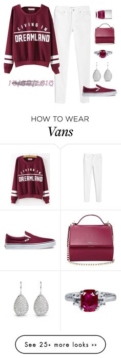"""15/09/2015"" by apcquintela on Polyvore featuring MANGO, Vans, Givenchy and Nails Inc."