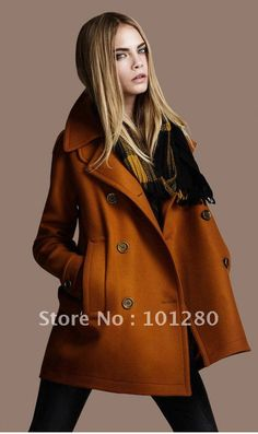 Aliexpress.com : Buy FREE SHIPPING 2013 new spring autumn winter fashion double breasted coat ladies wool jacket outerwear overcoat plus size trench from Reliable women trench suppliers on I' m Queen .