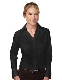Women's 100% Cotton smooth free bit Dyed little Herringbone woven Shirt. Tri mountain 983 #WovenShirt #Herringbone #fashion