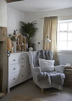 Create a cosy corner to curl up in. Just take an armchair, then add cushions, blankets, plants and a reading lamp. Get inspired by homes around the world at IKEA.com #IKEAIDEAS