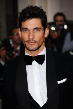 David Gandy arrives at the GQ Men of the Year Awards 2010 at the Royal Opera House on September 7, 2010 in London, England.