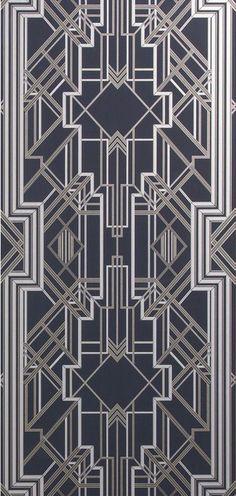 Metal screen gate art nouveau Ideas for 2019 Art Deco Rugs, Art Deco Decor, Art Deco Stil, Art Deco Design, Art Deco Pattern, Abstract Pattern, Art Deco Wallpaper, Designer Wallpaper, Art Deco Bedroom