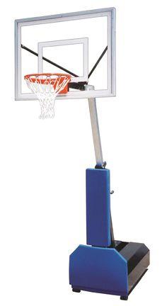 First Team Fury II Adjustable Portable Basketball Hoop 48 inch Acrylic from NJ Swingsets
