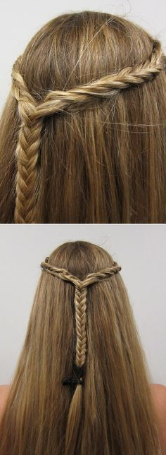 Lovely, feminine and EASY! We love this braided look. Shop the bext hair products at #Gloss48