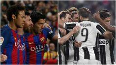 Con aires de revancha la Juve se enfrentará al Barca este martes en la Champions