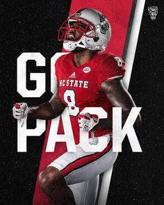NC State - - Daily Sports News & Live Stream Fotball Channel Nc State Sports, Sports Marketing, Sports Graphics, Sports Images, American Football, College Football, Sports News, Cool Art, Design Inspiration