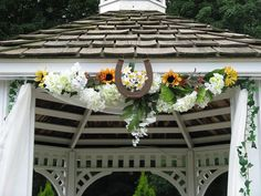 Would love to have a small wedding inside of a decorated gazebo