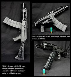 Saiga 7-12 SBS ..12-guage Tactical SG w/ 10-rd mag ;D