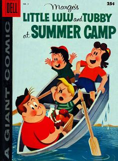 Golden Gems: Little Lulu and Tubby at Summer Camp Cover