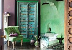 How design details add character to any space www.livelyupyours.com, www.facebook.com/livelyupyours #design #homedecor #designdetails #unique #architecturalelements #exotic #color #green