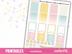 FREE Printable Planner Stickers - December – ColorCo. Designs