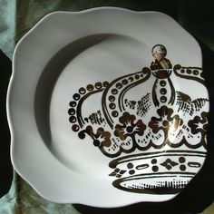 Crown Plate remakes of Rosanna Kings Road china