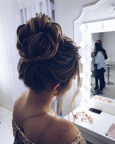 97 Inspirational Wedding Bun Hairstyles Gorgeous Feminine Wedding Hairstyles for Long Hair, 10 Gorgeous Wedding Updo Hairstyles, Bridal Hairstyles 18 Gorgeous Wedding Bun, Easy Wedding Bun Updo Cute Hairstyles for Girls with Long Hair. Bridal Hairstyles With Braids, Wedding Bun Hairstyles, Up Hairstyles, Braided Hairstyles, Hairstyle Ideas, Perfect Hairstyle, Gorgeous Hairstyles, Elegant Hairstyles, Celebrity Hairstyles