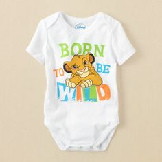 Lion King bodysuit