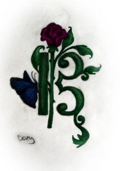 Alto clef...green style.