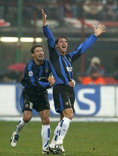 Dejan Stankovic e Kily González  FC Internazionale