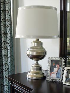 Paint Brass Lamp Using Krylons Looking Glass Spray