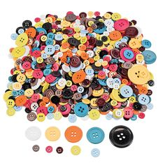 The place to get all the buttons I'm going to need for my projects. $6.25 for 800 buttons! Craft Buttons - OrientalTrading.com