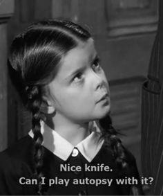 Wednesday Addams <3                                                                                                                                                                                 More